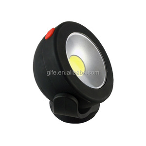 GF-7027-2 COB Magnetic Hanging Circular Portable working light flash lamp
