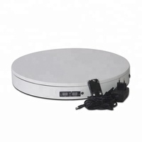 110V-220V plug white ABS 28cm rotary photography BKL turntable for take photo/record