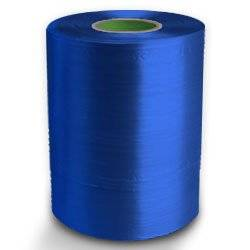 Twine - PP Film Tape Twine - Blue - 8430', Size: D-17, 19 lbs Tensile, 2# tube (20 Tubes) - CWC-046105