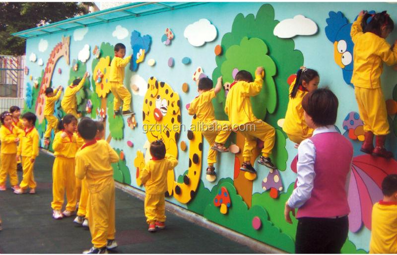 finest design indoor kindergarten climbing wall for children from
