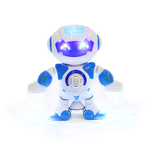 Wholesale smart robot toy educational robot with 3D light and sound