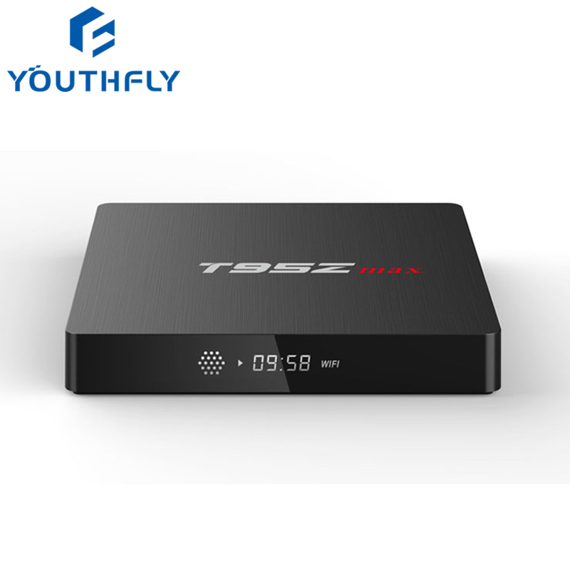 New 2018 Hot Selling T95Z Max 3G/32G Android 7.1 Smart TV BOX Amlogic Dual Wifi Amlogic Octa Core KD 17.6 OTT Meida <strong>Player</strong>
