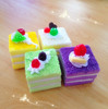 Cute simulation layer cake,100% handmade imitation food model/Yiwu sanqi craft factory