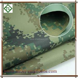 Poly oxford fabric d600 camouflage tent fabric