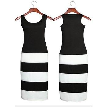 black white dress woman Fat