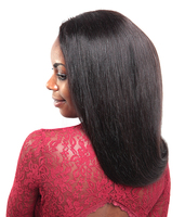 Affordable wigs 30 inch virgin human straight full lace wig for black women cheap price