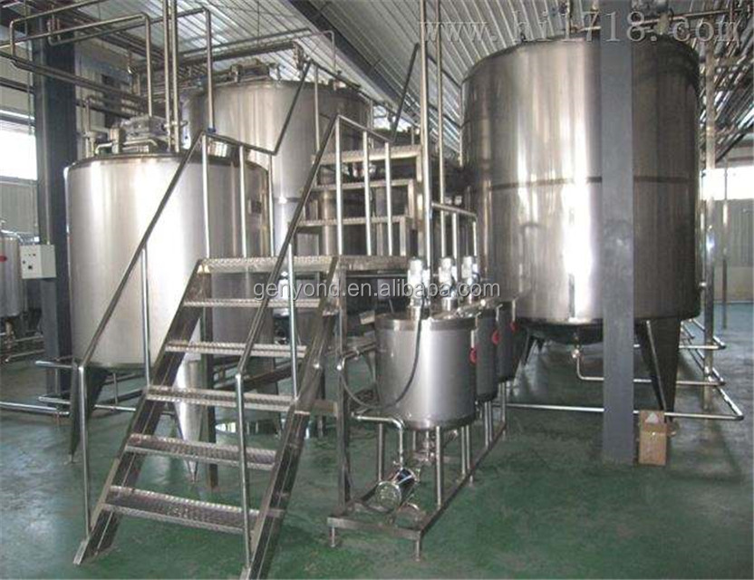 Complete soybean milk processing line