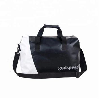 f8e15a8d92 Tarpaulin new design waterproof travel duffel bag can be customized ...