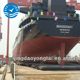 Evergreen Cargo ship launching airbags