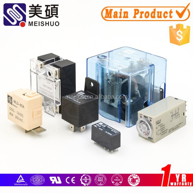 Meishuo gp 24v 5a 8pin relay high quality car & motor relay