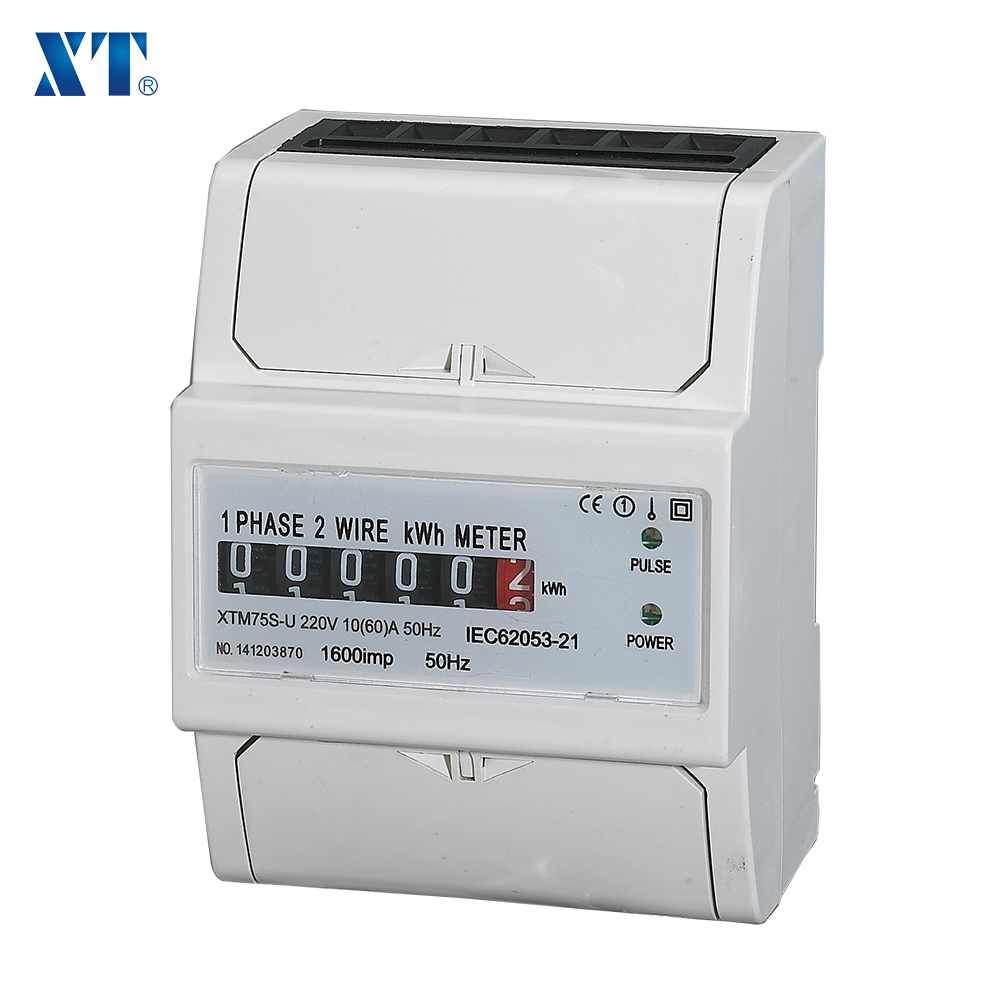 Energy Meter Expert / Single Phase Two Wire Ac Din Rail Electric ...