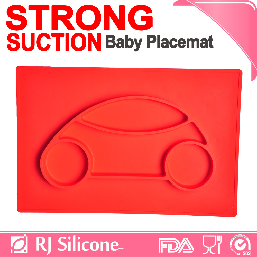 RJSILICONE baby food mat silicone material silicone mat baby table mat for baby