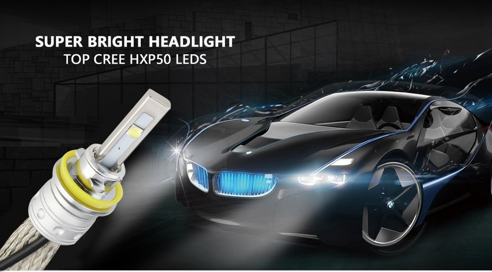H4 LED Headlight Universal Car Led Headlamp 9005 9006 9012 H7 H11 H4 Car Led Headlight