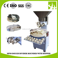 MP30 Round Dough Ball Making Machine with hopper for bakery , Dough Rolling Rounder Machine