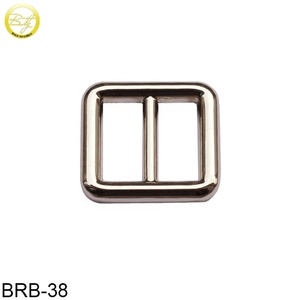 Fashion Style Alloy Adjustable Strap belt Buckle Metal Slide bar Buckle