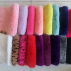 High Quality Dyed color Rex Rabbit Fur Pelt Skins 100% Genuine Rex Rabbit Fur Skin Pelts Wholesale Price