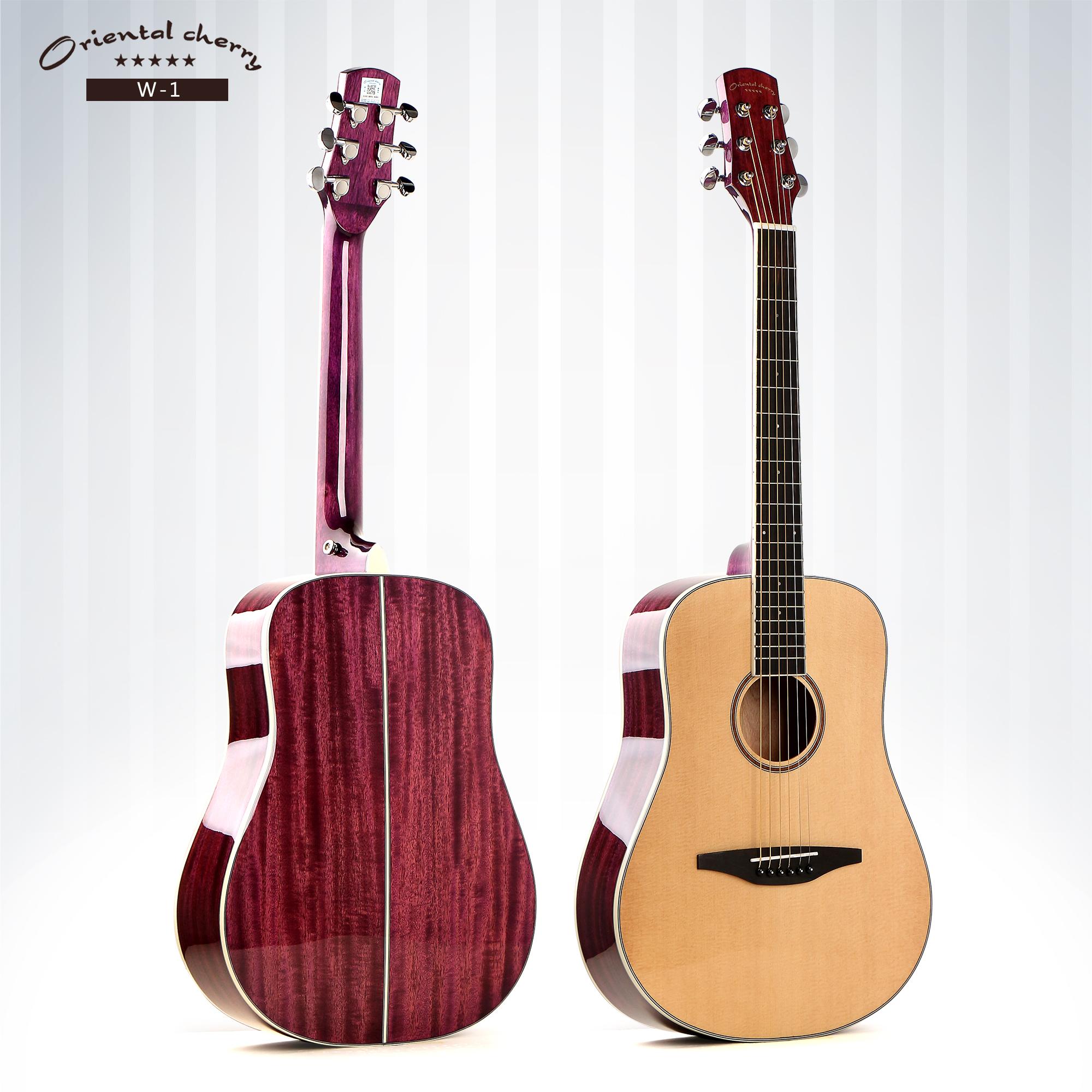 Gambar Gitar Akustik Warna Pink - Gambar Gitar