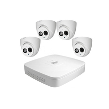 Dahua Kit 4CH NVR4104-P-4KS2 POE 4MP H.265 Merekam Audio Built-In MIC 4 * IPC-HDW4433C-A <span class=keywords><strong>Sistem</strong></span> <span class=keywords><strong>CCTV</strong></span>