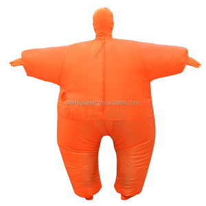halloween adult Unisex full body environmental spandex inflatable costumes