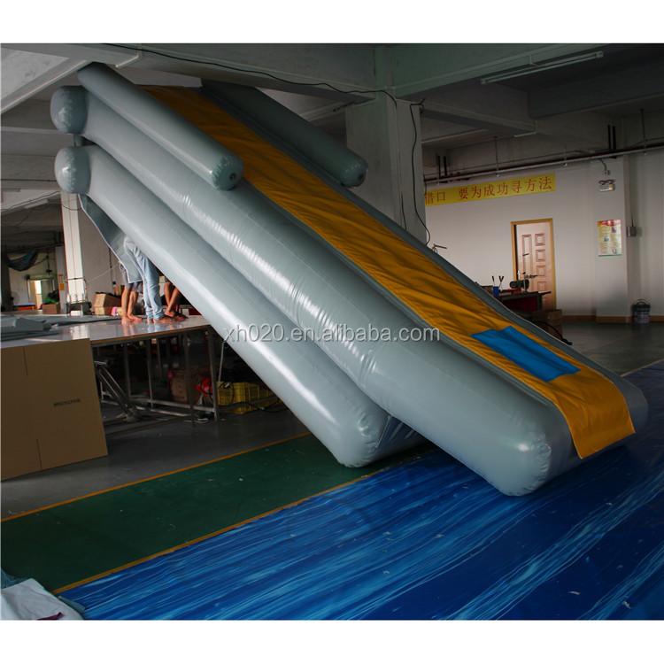 Inflatable Slide Fire Escape: Custom Air Trainning Inflatable Emergency Escape Slide 5