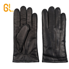 GL Mens Thick Fashion Wholesale Goat Skin Car Gloves Leather for Winter