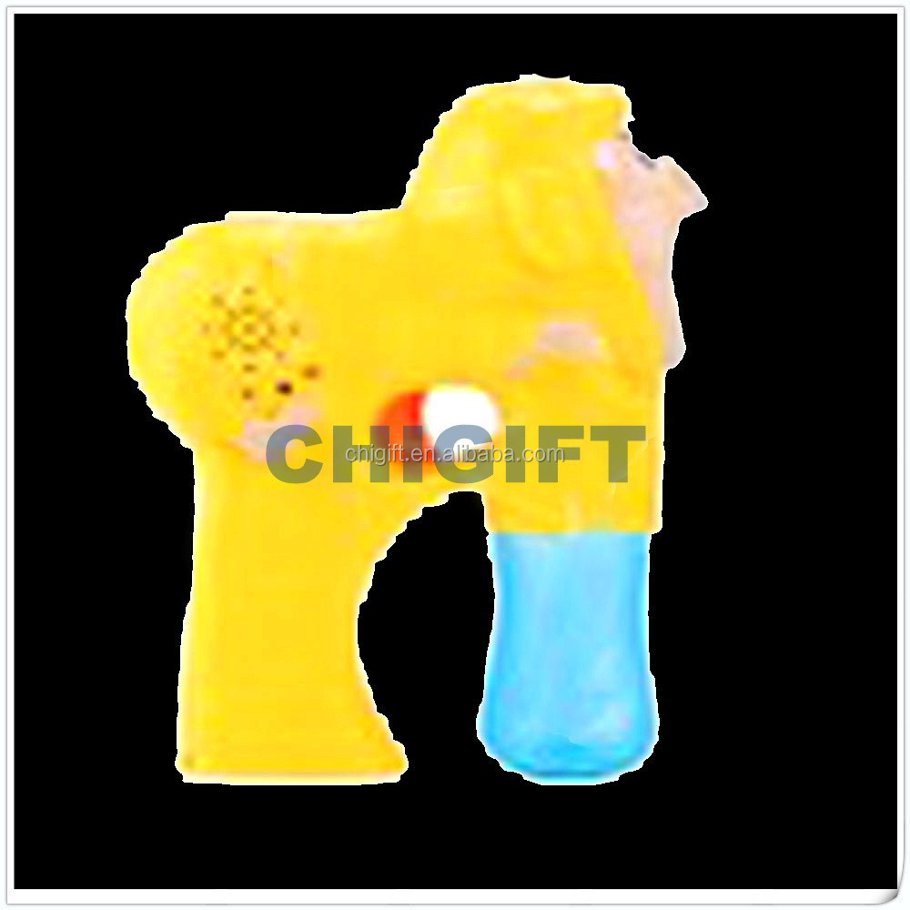 Promotional Summer Toys Bubble Gun With Light
