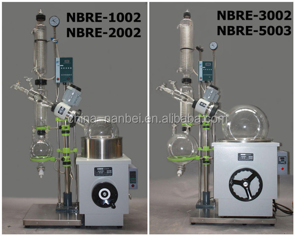 Competitive price China 50L vacuum glass rotary evaporator