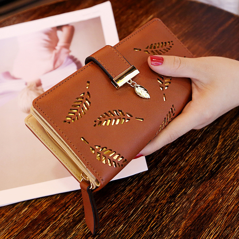 Wholesale Long Design Cell Phone Case Fashion Woman PU Leather Money Bank Card Wallet