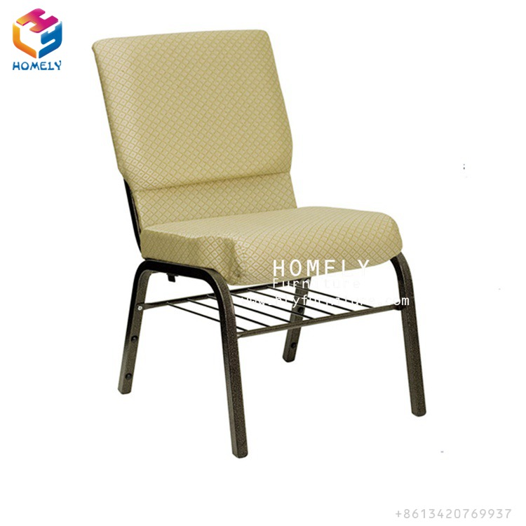 Wholesale cheap modern Church chair used with bookself