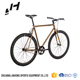 Fixed Gear Bike AVENTON 700C FIXIE road bicycle single speed bicycle with flip flop hub