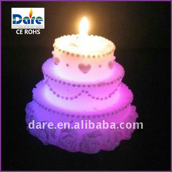 LED Color Changing Magic Birthday Cake Candles