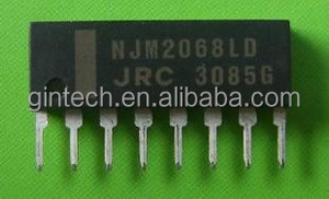 NJM2068L NJM2068 ZIP8 2068L NJM2068LD 27MHZ LOW-NOISE DUAL OPERATIONAL  AMPLIFIER General Purpose