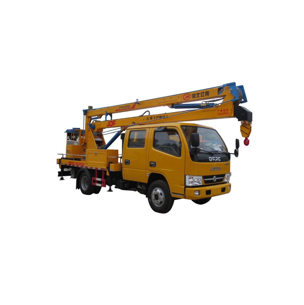 High altitude operating truck, overhead working platform truck for sale