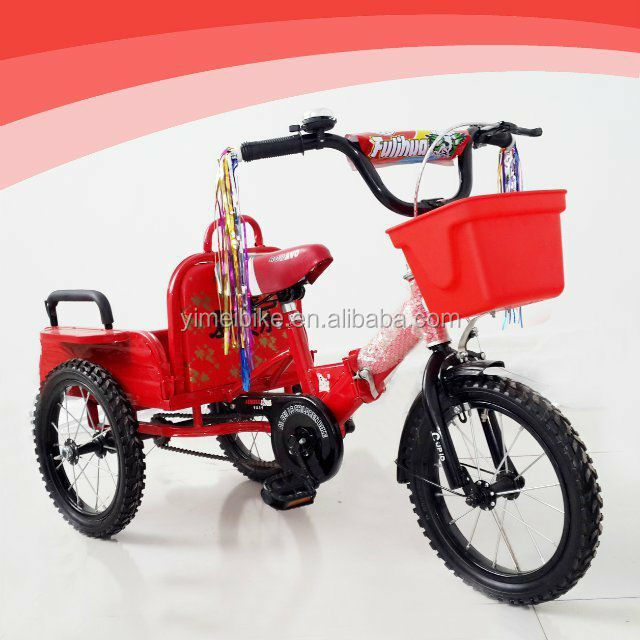 de luxe en m tal enfants jumeaux tricycle trois roues b b. Black Bedroom Furniture Sets. Home Design Ideas
