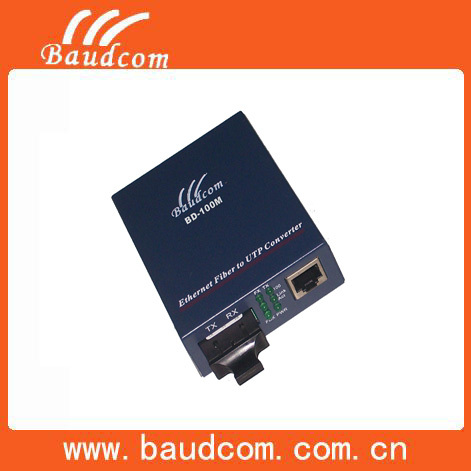 Communication Equipment 10 100M dual fiber optic meida converter
