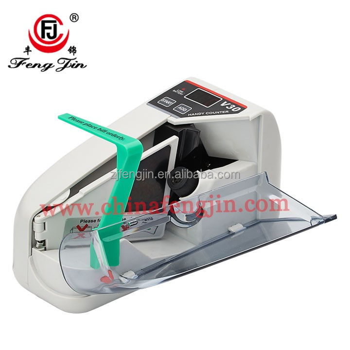 money bill counter V30 currency machine currency counter