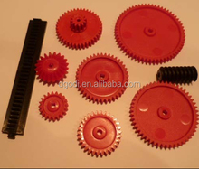 Professional custom high precision molding small plastic gear kits