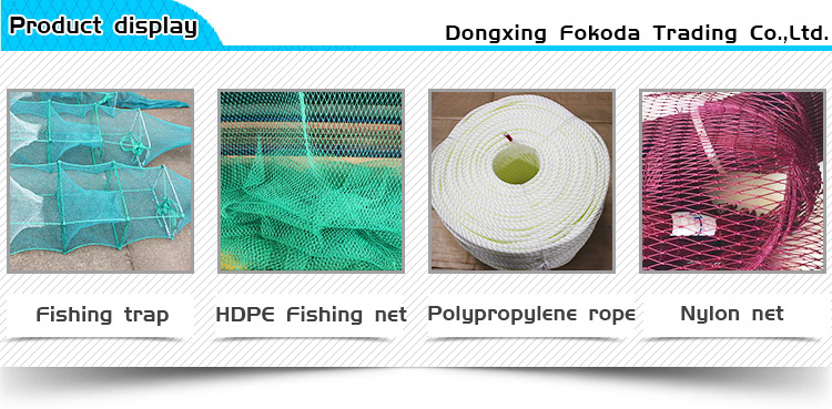 2019-2020 Newly fast delivery product 210D Nylon Multifilament fishing Net 210D 3ply up OR (0.15mm-0.23mm) * (9-120)ply