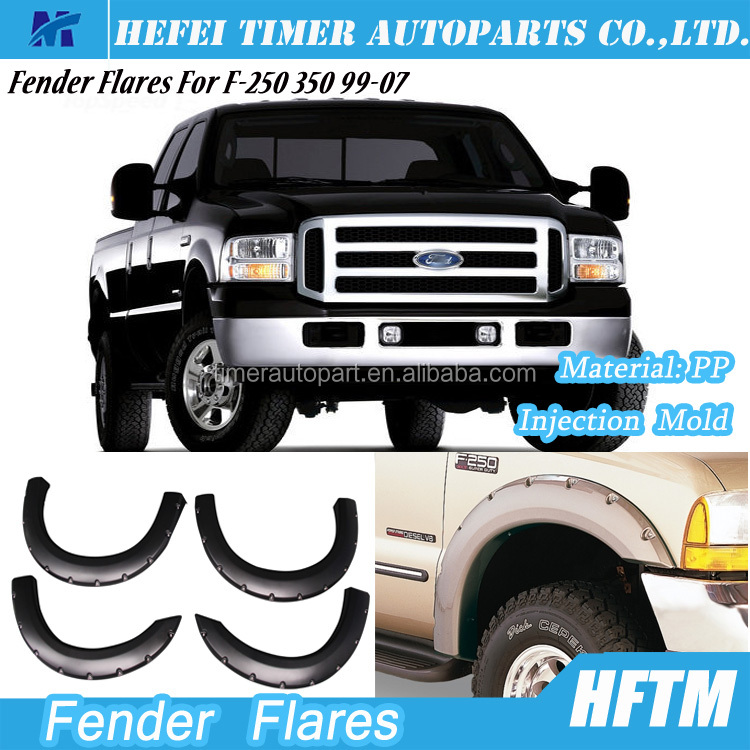 For F-250 350 top quality injection mold popular products in usa fender flares