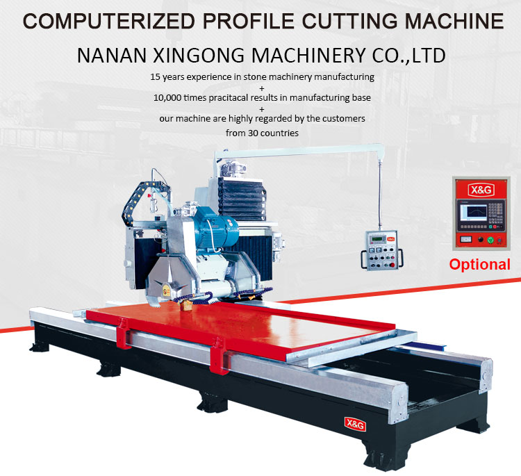 Widely used manual edge saw stone cutting machine