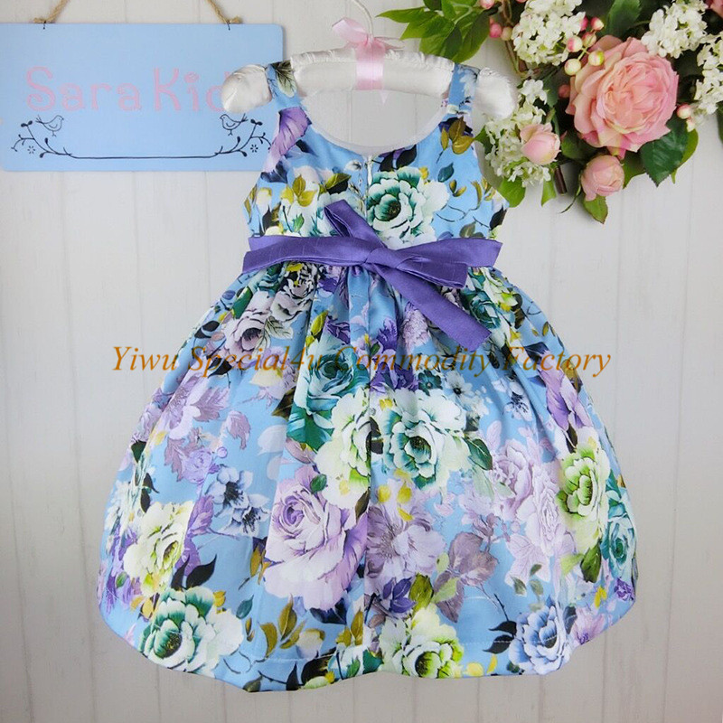 Casual Flowers Baby Girls Party Wear 2016 New Fancy Design ...