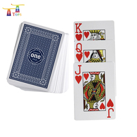 high quality customized both side nude printing game pvc deck poker card100% waterproof plastic playing card