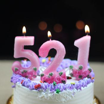 Decoration Birthday Cake Gift Digit Candle - Buy Cheap Birthday ...