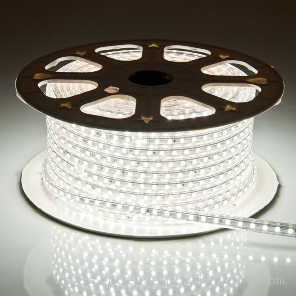 220V High voltage 2835 120 leds/m led strip light led flex strips lighting guzhen