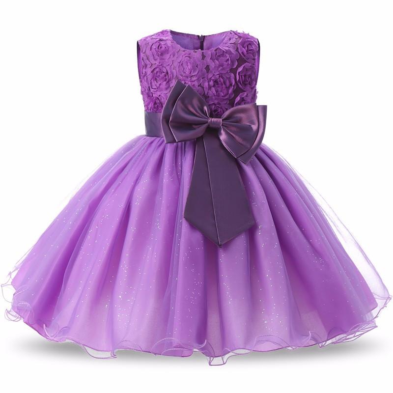 Торжественное вечернее платье с объемным цветком для маленьких девочек; вечернее платье для детей