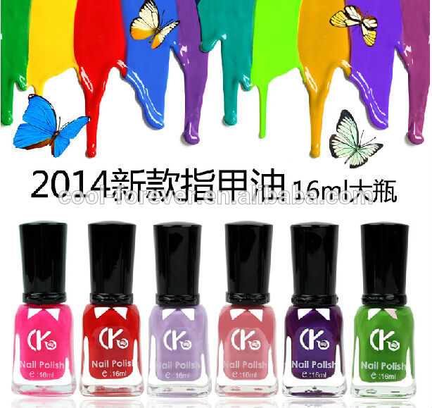 custom logo cheap wholesale nail polish factory