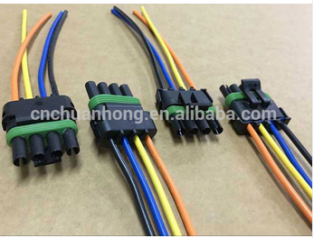 4 pin automotive connectors wire harness pigtail 12015797 buy rh alibaba com Jeep Wiring Harness Pigtail Connector Car Wiring Harness