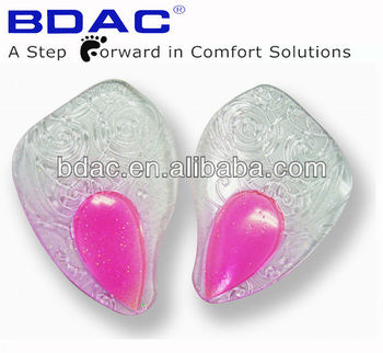fashionable metatarsal support anti-slip forefoot insoles
