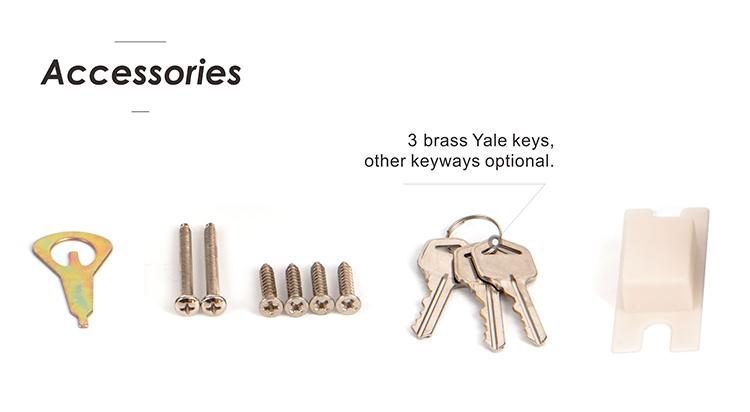 Zinc Alloy Privacy Door Knob Lock Stain Nickel Tubular Door Knob For Lock