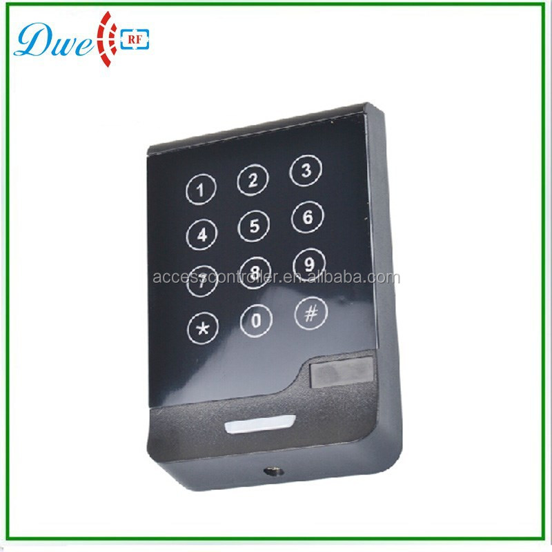 13.56Mhz Wiegand 34 12V Touch keypad IC Card door access control rfid reader